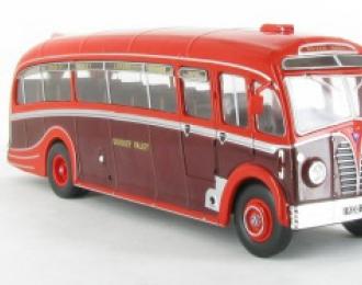 """AEC REGAL III Harrington """"Dorsal Fin"""" England (1950), maroon / red"""