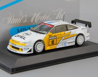 OPEL Calibra V6 DTM Rosberg #6 (1993), white / yellow