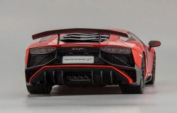 LAMBORGHINI Aventador LP 750-4 SuperVeloce (2015), red