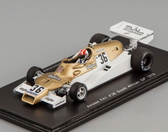 Arrows FA1 #36 South African GP Rolf Stommelen (1978), gold / white