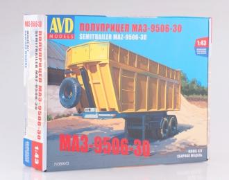 Сборная модель Полуприцеп МАЗ-9506-30