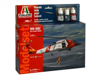 Сборная модель HH-60J U.S. COAST GUARD (подарочный набор)