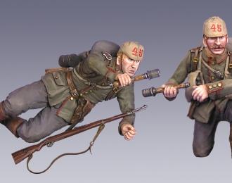 Немецкие солдаты. Первая Мировая Война, две фигуры