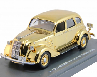 TOYODA AA Sedan (1936), gold plated