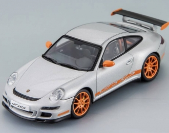 PORSCHE 911 GT3 RS (997) W. STRIPES, silver