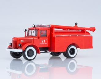 Автоцистерна АЦ-30 (205), красный