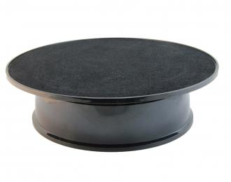 Подиум вращающийся (корпус черный / поверхность черн.матовая)
