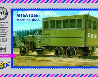 Сборная модель Полевая механическая мастерская М16А (US6)