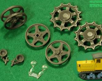 Колеса и фары для поздних ДТ-54