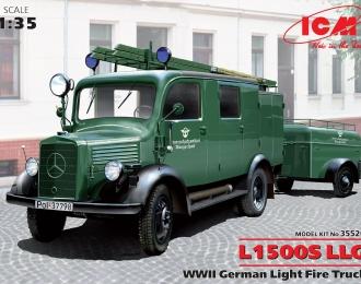 Сборная модель L1500S LLG Германский легкий пожарный автомобиль II МВ