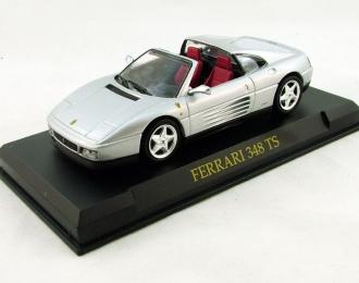 FERRARI 348 TS, Ferrari Collection 41, silver