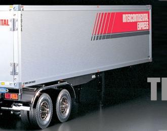 Сборная модель Полуприцеп для грузовика двухосный