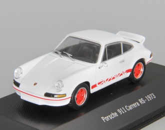 PORSCHE 911 Carrera RS (1973), white