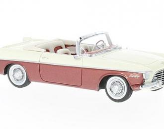 CHRYSLER Flight Sweep I (Ghia) Cabrio 1955 Metallic Red/Creme
