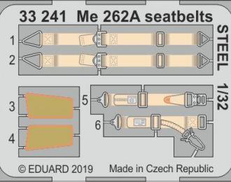 Набор фототравления для Me 262A стальные ремни