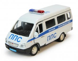 Горький 3221 ППС Милиция, белый
