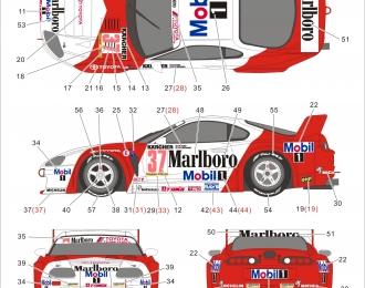 "Декаль Toyota Supra GT ""ZHUHAI""1995"