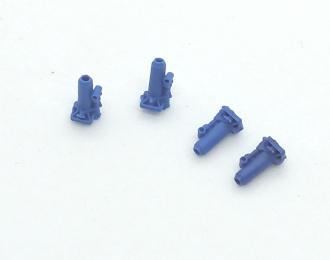 (Уценка!) Бутылочные домкраты (5 т.), набор 4 шт., синий