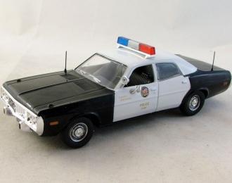 DODGE Coronet Полиция Лос-Анджелеса США (1973), Полицейские Машины Мира 53, черно-белый