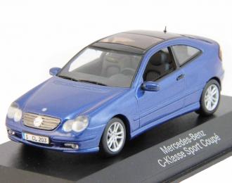 (Уценка!) MERCEDES-BENZ C-Klasse Sport Coupe, blue