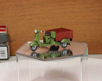 Вятка МГ-150 грузовой мотороллер (зелено-коричневый)