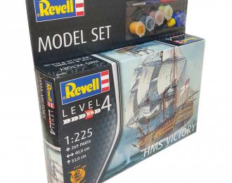 Сборная модель линейный корабль Королевского флота Великобритании Victory (подарочный набор)