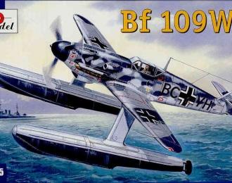 Сборная модель Немецкий истребитель Messerschmitt Bf.109 W-1