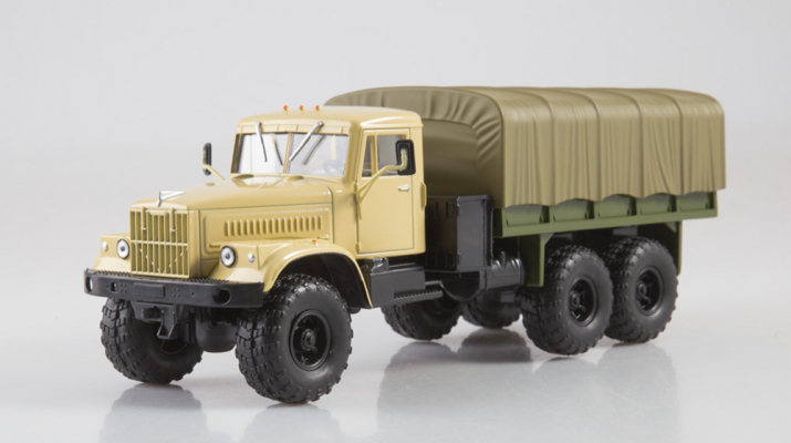 КрАЗ-255Б1, Легендарные Грузовики СССР 34