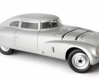 Adler Trumpf Race Sedan, silver (incl. show case),Germany,1939