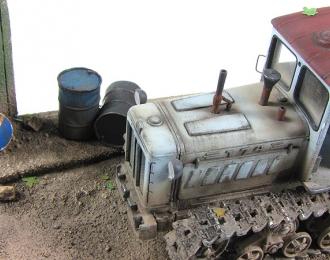 Т-74 трактор (серый пыльный)