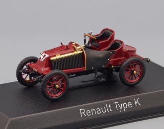 RENAULT Type K (1902), maroon
