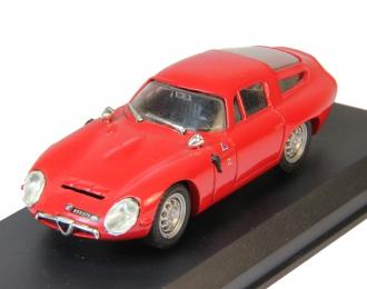 ALFA ROMEO TZ1 Prova (1963), red