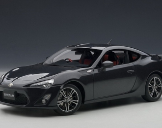 TOYOTA 86 LIMITED (ASIAN VERSION/RHD) 2012, GREY METALLIC