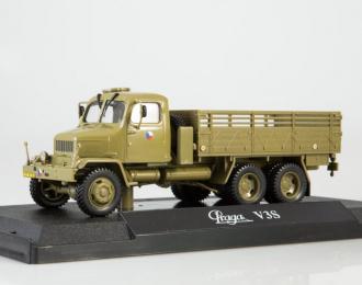 Praga V3S бортовой грузовик 1967, olive