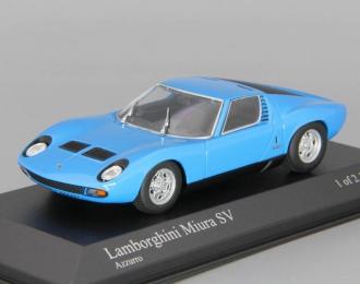 LAMBORGHINI Miura SV (1971), blue