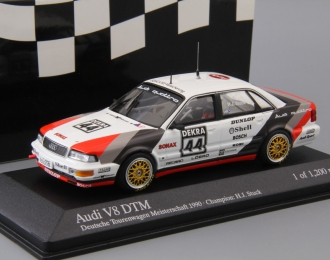 AUDI V8 Team SMS - DTM Champion (Hans-Joachim Stuck) 1990, white / grey / black