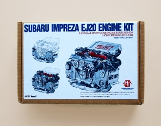 Набор для доработки Subaru Impreza EJ20 Engine Kit (Resin+PE)