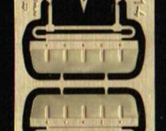 Фототравление Набор солнцезащитных козырьков для МАЗ 500 / 5335