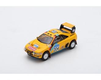 Peugeot 405 T16 Grand Raid #204 2nd Paris Dakar 1990 B. Waldegard - J.-C. Fenouil