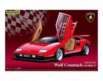 Сборная модель Lamborghini Countach Wolf Ver.1