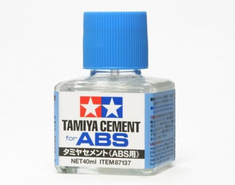 Клей для АБС-пластика, с кисточкой, 40 мл.