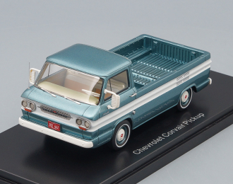 CHEVROLET Corvair Pick Up 1963 Metallic Turquois / White