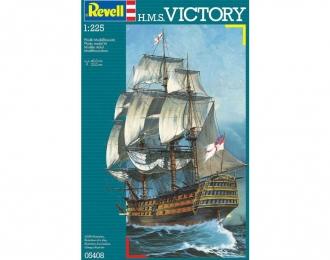 Сборная модель Британский парусник H.M.S Victory
