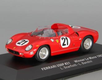 FERRARI 250P Sieger Le Mans Scarfiotti / Bandini (1963), red