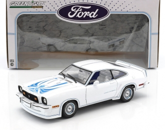 FORD Mustang II King Cobra 1978 White/Blue
