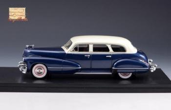 CADILLAC Series 67 Sedan 1942 Blue/White