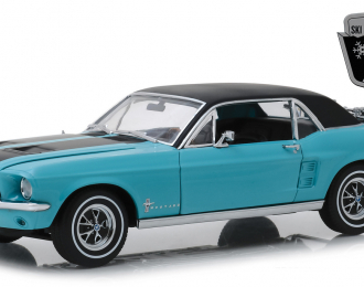"FORD Mustang Coupe ""Ski Country Special"" 1967 Winter Park Turquoise"