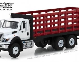 INTERNATIONAL WorkStar Platform Stake Truck 2018 Red