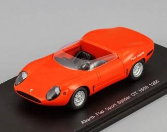 ABARTH FIAT Sport Spider OT 1600 (1965), red