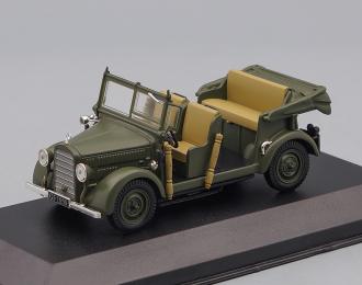 MERCEDES-BENZ 200V G5 (1939), Mercedes-Benz Offizielle Modell-Sammlung 42, green